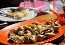 Seafood Gonggong